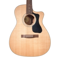 Guild GAD Series F-130CE Orchestra Acoustic-Electric Guitar in Natural