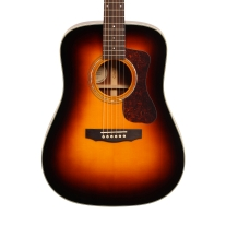 Guild GAD Series D140 Dreadnought Acoustic Guitar in Sunburst