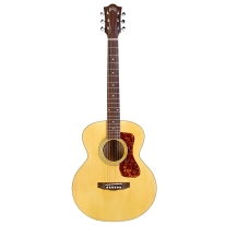 Guild Jumbo Junior Acoustic Electric Guitar with Maple Back and Sides