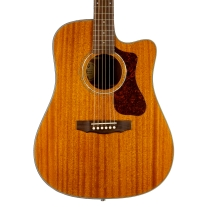 Guild Westerly Collection D-120CE Dreadnought Acoustic Electric Guitar w/ Case