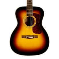 Guild Westerly Collection OM-140 in Antique Sunburst w/ Case