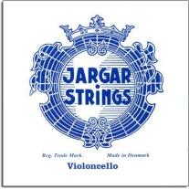 JARGAR 3JCS 4/4 MEDIUM TENSION CELLO STRING SET- BALL END