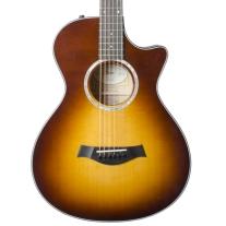 Taylor 412ce 12-Fret Grand Concert Acoustic Electric Guitar w/ Case