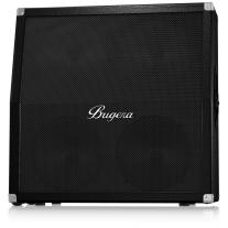 "Bugera 412HBK Angled 4x12"" Guitar Speaker Cabinet"