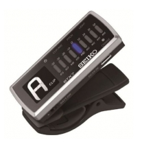 Seiko STX7 Rechargeable Clip-On Tuner with LED