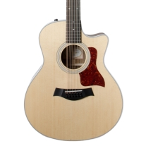 Taylor 2018 456CE 12-String Grand Symphony Acoustic Electric Guitar with Case