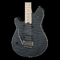 EVH Wolfgang Standard Left-Handed - Trans Black Quilt Guitar