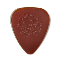 Dunlop Primetone Standard .88mm Sculpted Plectra (Grip) - 3-Pack