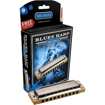 Hohner 532 Blues Harm MS-Series Harmonica C#/Db