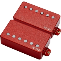 EMG 57/66 Active Electric Guitar Humbucker Pickup Set Red