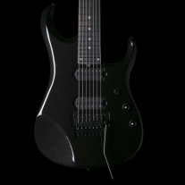 Music Man JP16 John Petrucci 7 String Electric Guitar in Black Lava