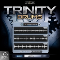 Best Service Trinity Drums Virtual Instrument