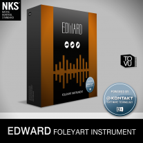 Tovusound Edward Virtual Foley Instrument