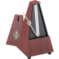 Wittner 801m Wooden Casing Metronome in Mahogany Without Bell