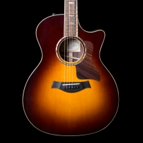 Taylor 814CE Grand Auditorium Acoustic Electric Guitar in Tobacco Sunburst