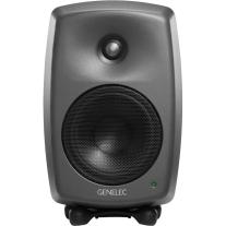 "Genelec 8330A 100W 5"" Active 2-Way DSP Monitor Speaker (Dark Gray)"