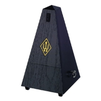 Wittner 845161 Plastic Casing Pyramid Metronome Without Bell, Black