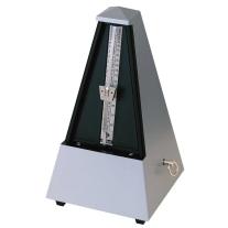 Wittner Maelzel Pyramid Designer Series Plastic Casing Metronome in Dark Silver