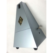 WITTNER MAELZEL PYRAMID METRONOME in DARK SILVER WITH BELL
