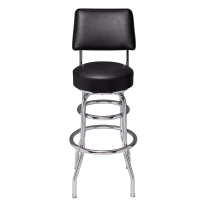 "Fender Backrest Barstool 30"" - Black"