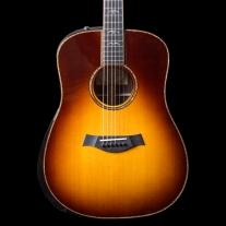 Taylor 910E Dreadnought Acoustic Electric Guitar in Tobacco Sunburst