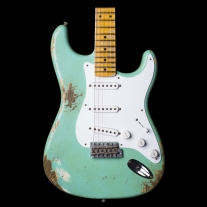 Fender Limited Ed '54 Stratocaster Heavy Relic Electric Guitar in Seafoam Green
