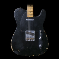 Fender '51 Nocaster Relic Black Vintage Specs w/ Case
