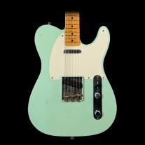 Fender 2016 Ltd Ed 50's Journeyman Relic Tele Faded Teal Green Metallic w/ Case