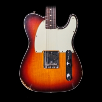 Fender 1960 Relic Esquire Custom 3-Tone Chocolate Sunburst w/ Case