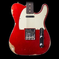 Fender Custom Shop 1960 Telecaster Relic Candy Apple Red w/ Case
