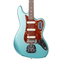 Fender Custom Shop Bass VI Lush Closet Classic In Faded Ocean Turquoise