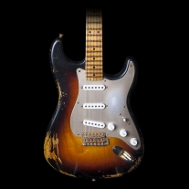 Fender Custom Shop Limited Edition 1954 Golden '50's Heavy Relic 2-Tone Sunburst