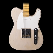 Fender 2017 Telecaster Custom Super Faded Aged White Journey Man Relic