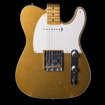 Fender 2017 Telecaster Custom Super Faded Aged Aztec Gold Journey Man Relic