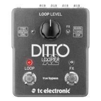 TC Electronic Ditto X2 2 Switch Looper Guitar Pedal