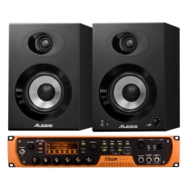 Avid Pro Tools Subscription Plus Eleven Rack with Elevate 4 Monitor Pair Bundle
