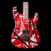 EVH Stripe Series Red White Black Electric Guitar
