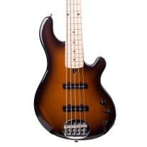 Lakeland 55-14 Dual J 5 String Electric Bass in Sunburst