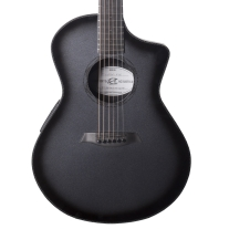 Composite Acoustic Ox Acoustic Electric Guitar In Raw Carbon Fiber