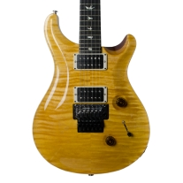Paul Reed Smith Custom 24 Floyd Rose Electric Guitar in Amber with Case