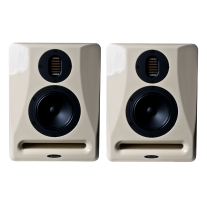 Avantone Pro Abbey 3-Way Active Monitors in Creme (Pair)