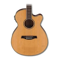 Ibanez AEG15IILG Cedar Top Acoustic Electric Small Body Guitar