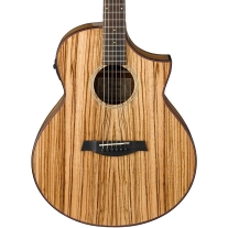 Ibanez AEW40ZWNT Exotic Wood Acoustic-Electric Guitar Natural High Gloss