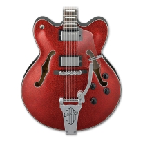 Ibanez AFD75TRSP Artcore Hollow Body Electric Guitar in Red Sparkle