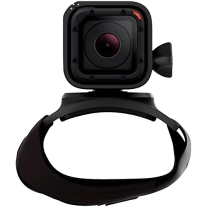 GoPro The Strap, Hand, Wrist, Arm, Leg Mount for All GoPro Cameras (Black)