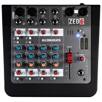 Allen & Heath ZED-6 6-Channel Analog Mixer