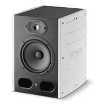 """Focal Alpha 65 Active 2-Way 6.5"""" Active Studio Monitor - Limited Edition White"""