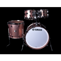 Yamaha Absolute Hybrid Maple 4pc Shell Kit in Pink Champagne Sparkle