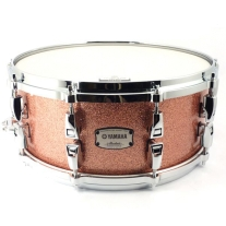 Yamaha Absolute Hybrid Maple Snare Drum 14x6 - Pink Champagne Sparkle