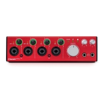 Focusrite Clarett 4Pre Audio Interface with Thunderbolt / ADAT